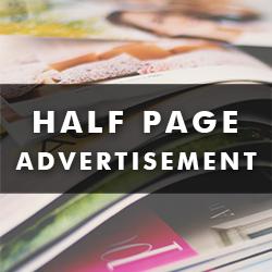Half Page Catalog Advertisement